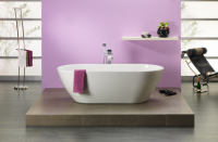 Freistehende Badewanne Carney 1900x900x450 mm, weiß
