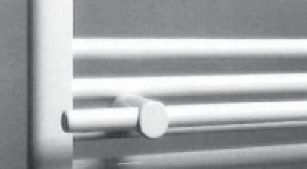 Neuesbad.de Handtuchhalter 400 mm für Badheizkörper 450 / 500 mm