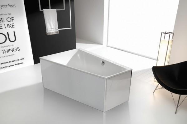Hoesch Glasverkleidung Weiss Fur Freistehende Badewanne Rechteck 170x80 Fur 1 558 13