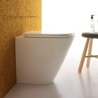 Globo Forty3 Stand-Tiefspül-WC, B: 360, T: 520, H: 430 mm, FO002.BI, weiss