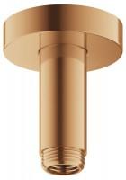 Keuco Brausearm Elegance 51689, für Deckenanschluss, 100 mm, Bronze geb., 51689030100