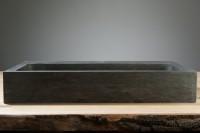 Palermo Waschbecken, B: 600, T: 400, H: 100 mm, Material: Hartstein