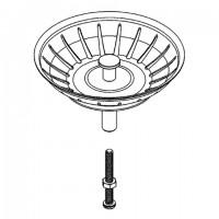 GROHE Stopfen 42576 für Küchenspüle edelstahl, 42576SD0