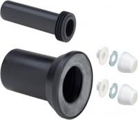 Viega WC Anschlussgarnitur 3817.815 in DN80 Kunststoff schwarz