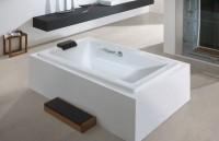 Hoesch Badewanne Scelta 1900x800, pergamon