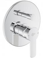 Ideal Standard Badearmatur Unterputz Bausatz 2 Gio, eigensicher gemäß DIN EN 1717, Chrom A6277AA