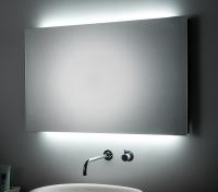 KOH-I-NOOR T5 Spiegel mit Raumbeleuchtung, B: 100 cm, H: 80 cm