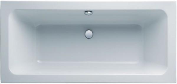 Geberit (Keramag) Badewanne iCon 650490, L: 1900, L: 900 mm, weiss, Überlauf mittig, 650490000