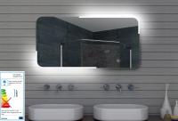 Neuesbad LED Lichtspiegel, B:1400, H:600 mm