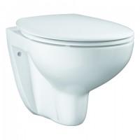 Grohe Wand-Tiefspül-WC Set 39351 Bau Keramik mit WC-Sitz soft close alpinweiß, 39351000