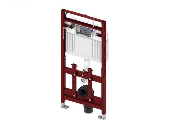 TECE lux WC-Modul 200, Bauhöhe 112 cm, nachträglich höhenverstellbar 9600200
