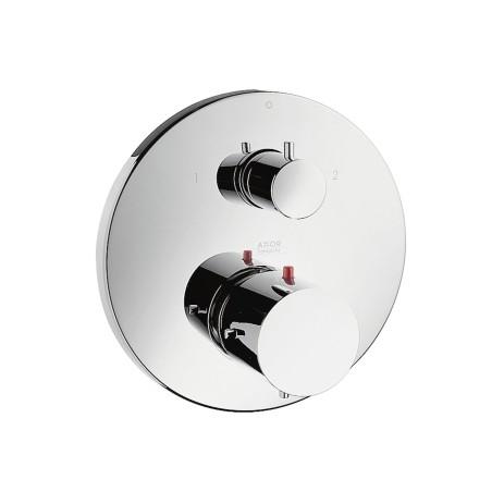 Hansgrohe Thermostatmischer UP Axor Starck F-Set chrom m.Absperr-und Umstellventil, 10720000