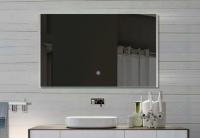 Neuesbad LED Lichtspiegel, Touch Schalter, Lichtfarbe einstellbar, B:1400, H:620 mm