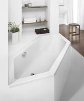Hoesch Badewanne Scelta 6-Eck 2000x900