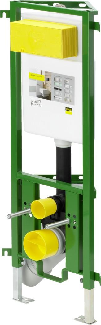 WC-Eckelement ECO Plus 8141.2 in 980mm Stahl smaragdgrün 606718