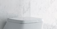Axa one Serie 138 WC-Sitz mit Absenkautomatik, weiss