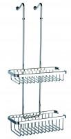 Geesa Basket Collection Duschkorb gerade zum Einhängen in die Dusche
