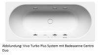 Kaldewei Vivo Turbo Plus Whirlsystem