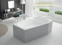 Hoesch Badewanne Spectra 1800x1200 rechts, weiß , 3667.010