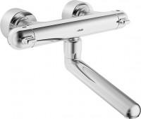 Hansa Wasch-/Spültisch Thermostat Wandbatt. Hansacare 0830 Ausladung 250 mm, chrom