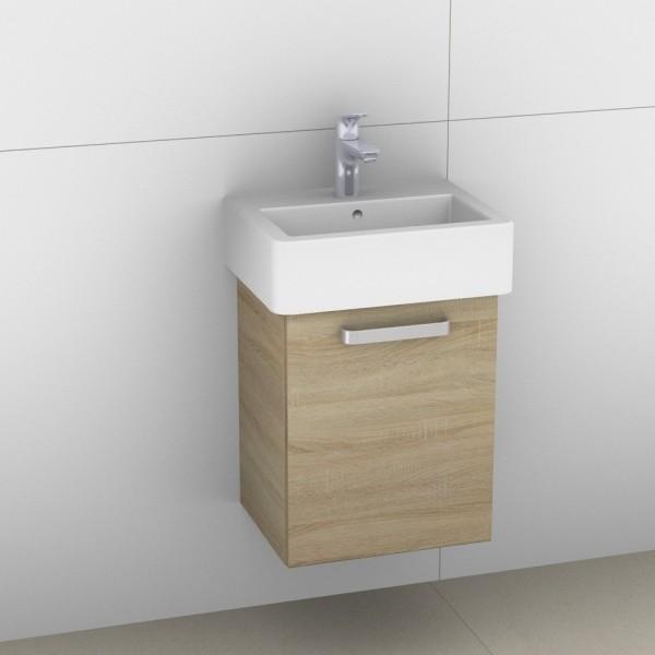Artiqua 411 Waschtischunterschrank für Vero 070445, Castello Eiche quer NB, 411-WUT-D22-R-7134-426