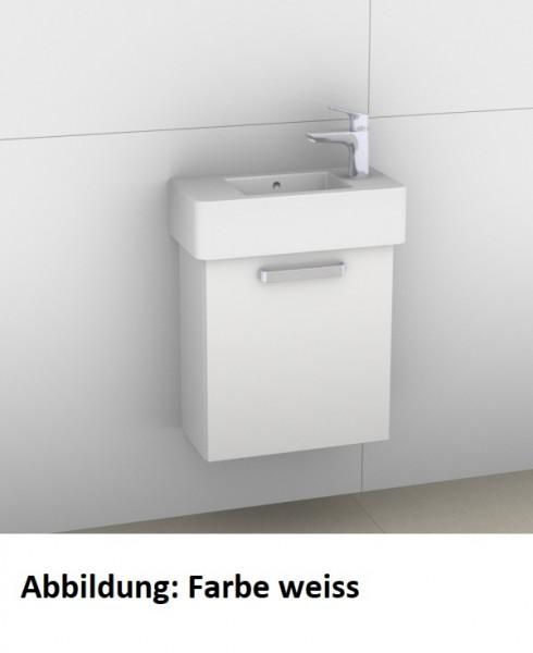 Artiqua 411 Waschtischunterschrank für Vero 070350, Quarzgrau Matt Select, 411-WUT-D28-L-7163-173