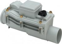 Viega Rückstausicherung 4987.2, in 150mm Kunststoff grau