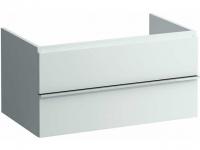 Laufen Schubladenelement Case Top 2 Laden, mit Siphon 450x895x520mm weiss matt