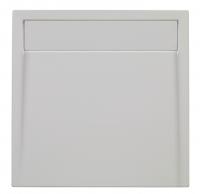 Brausetasse Plateau 1000x800 mm, weiß