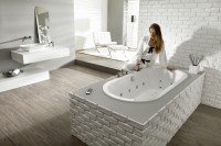 Hoesch Badewanne Starck 2 1750x800, weiß