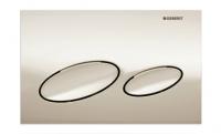 Geberit Kappa20 Betätigungsplatte pergamon für 2-Mengen-Spülung