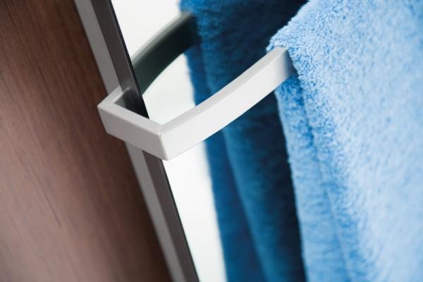HSK Handtuchhalter, gebogen, 570 mm, für Softcube und Atelier Pur Heizkörper