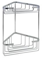 KOH-I-NOOR Griglie 45803 Ablage 19x19x31 cm, chrom einfache Montage ohne Bohren