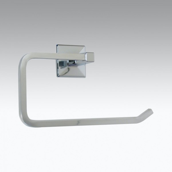 KOH-I-NOOR Tilda 5724 Ringhandtuchhalter 22,5x7x13,5 cm chrom, einfache Montage ohne Bohren