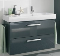 Neuesbad Waschtischunterschrank für Icon Waschtisch 12406xxxx, B: 600, H: 570 mm