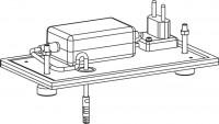 Mepa Sanicontrol WC-Spülautom., 1050 Air-WC Ersatzelektronik, 718027