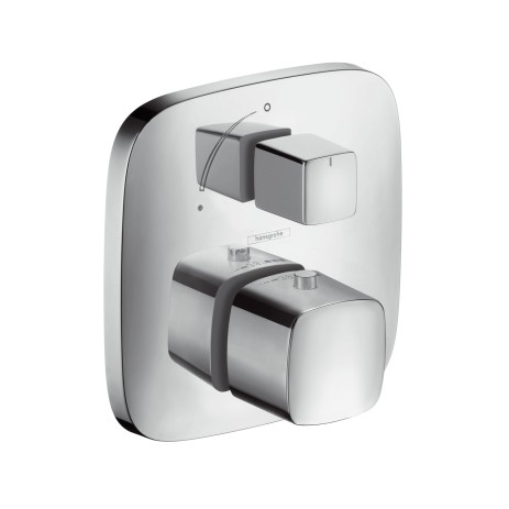 Hansgrohe Thermostat Unterputz PuraVida F-Set chrom m.Absperrventil, 15775000