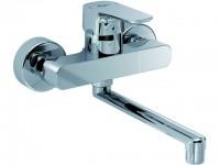 Ideal Standard Wand-Küchenarmatur Ceraplan III, Ausld.200mm, Chrom B0726AA