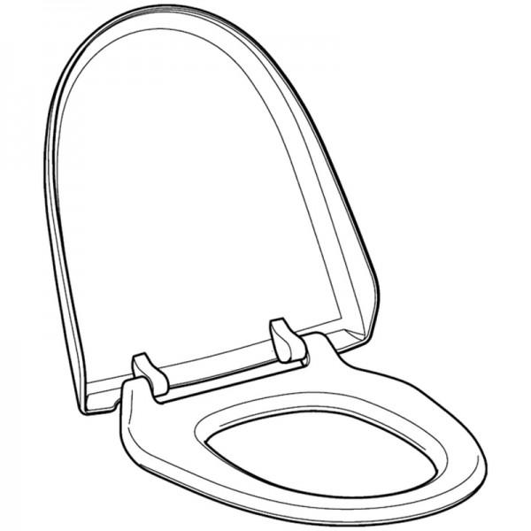 Geberit WC-Sitz und WC-Deckel weiß-alpin zu Balena 8000 und AquaClean 8000plus