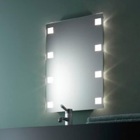 Zierath Lichtspiegel Cult I 4570 BxH: 450x700, Lux:150, 8 x 10 W, CultI4570