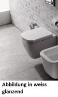 Globo Stone Wand-WC, B: 360, T: 450 mm, schwarz matt