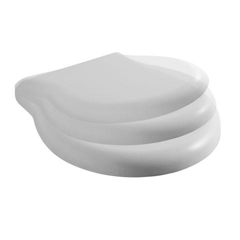 Globo Paestum WC-Sitz aus Duraplast mit Soft Close weiß
