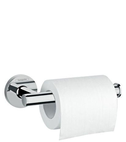 Hansgrohe Papierrollenhalter Logis Universal chrom ohne Deckel, 41726000