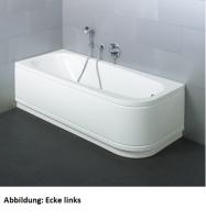 Bette Rechteck-Badewanne Form Comfort 3710, 170x75x42 cm