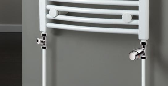 HSK Seitenanschluss-Set, inklusive Design-Thermostatregler, chrom HSK890826