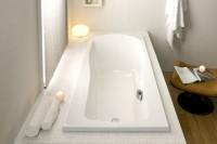 Hoesch Badewanne Modula 1800x800 Überlauf links,