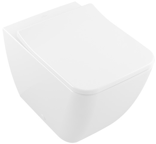 Villeroy & Boch Stand-WC spülrandlos Venticello, 4613R001, B: 375, T: 560mm, Weiß Alpin