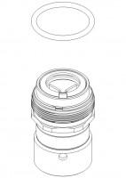 Damixa Reparatur-Set Keramik Modul 90 Grad Links, 323500