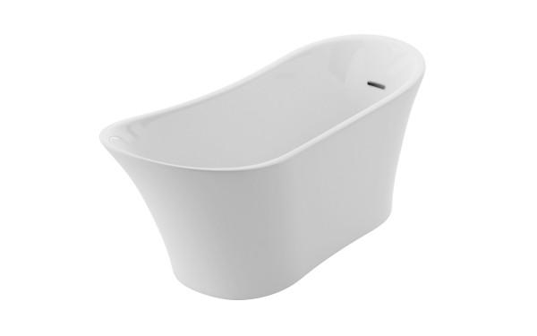 Neuesbad freistehende Badewanne Luxus 1, L:1710, B:735, H:730 mm, weiss glänzend