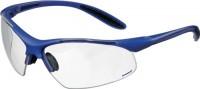 NORDWEST Handel AG Schutzbrille blau/klar PC-Gläser UVA/UVB ultra light EN166,
